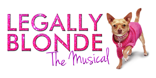 Legally Blonde The Musical Logo Main Stage | Fa...